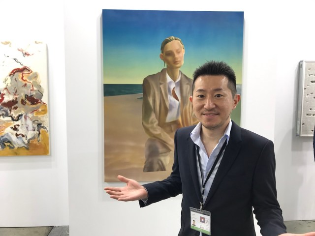 Gallery Vacancy Director Lucien Tso.