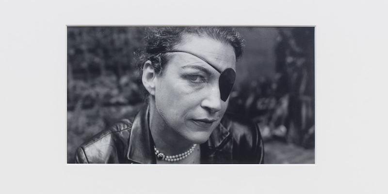 """Camilla Wills, A life (detail), 2021, C-type print on paper, 76 x 52 x 2 1/2"""". © Marie Colvin photographed by Don McCullin, 2005."""