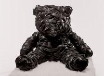 Verena Vanoli, Teddybär 2001, Gummi und Textil, 45 x 43 x 43 cm, © ART FORUM UTE BARTH 2012