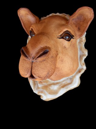 "Camel Wall Head - approx. 11""H x 10""W x 8""D"