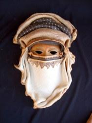 "Plain Veiled Mask - approx. 20""H x 13""W x 5""D"