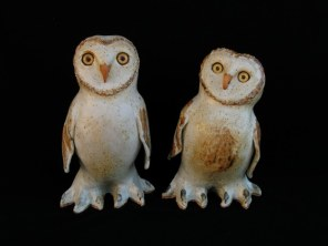 "Snowy Owls Table-sized, medium - approx. 9""-10""T"