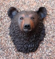 """Bear Wall Head - approx. 16""""H x 13""""W x 9""""D"""