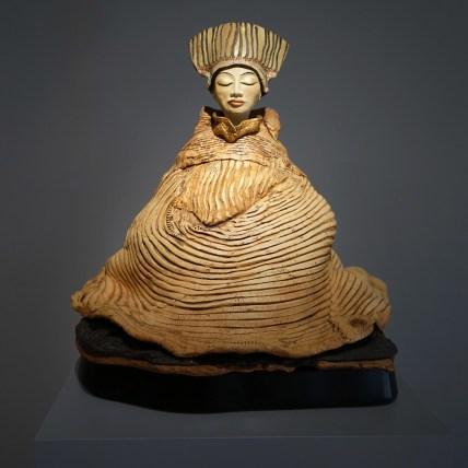 "Buddha - approx. 17""H x 17""W x 15""D"