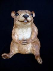 "Marmot - approx. 9.5""H x 9""W x 9""D"