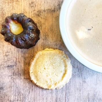 Malvern Buttery - Canelé, Sable and Café au lait