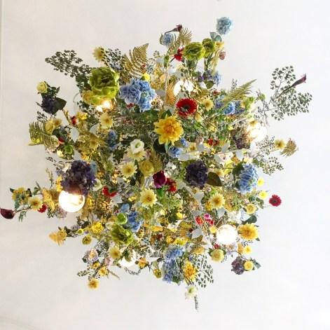 Floral Chandelier :: Kimpton Hotel Monaco :: Pittsburgh :: PA