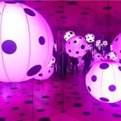 Love Transformed into Dots :: 2007 :: Yayoi Kusama :: Yayoi Kusama: Infinity Mirrors :: Hirshhorn :: Washington :: DC