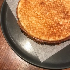 Chicken Liver Stroopwafle, Plum Agrodolce :: ITV Philly :: Philadelphia :: PA