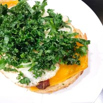 Bacon, Egg, Cheese and Kale on a Croissant :: HGU :: New York :: NY