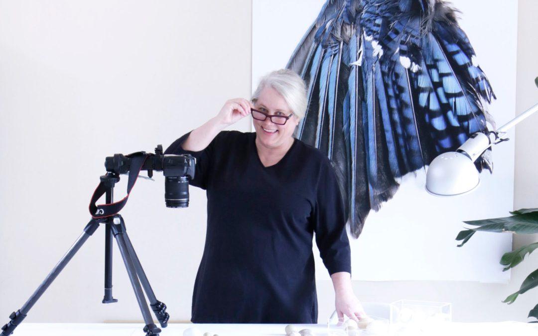 Inside the Artist's Studio: Mary Jo Hoffman
