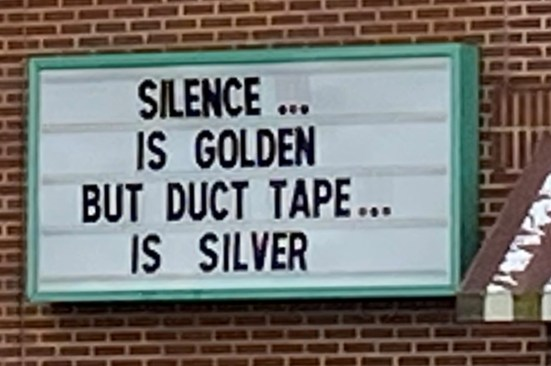 2020 Duct Tape is Silver