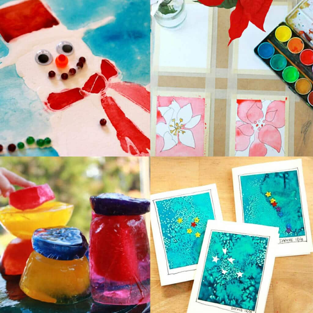 13 Winter Art Projects For Kids How To Have An Artful Winter