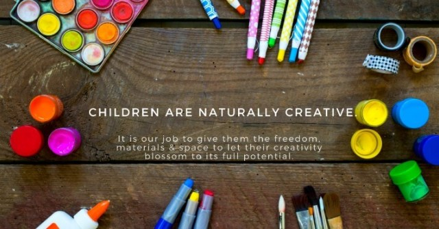 Children are naturally creative quote by Jean Van't Hul