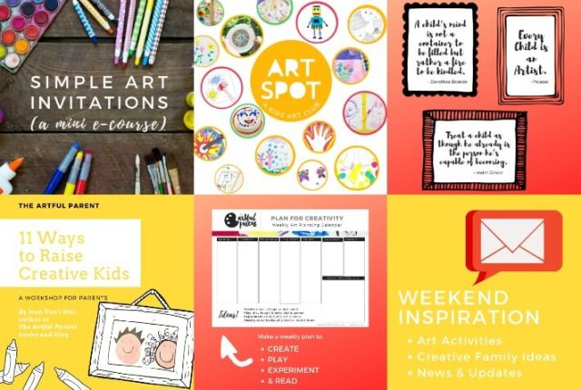 Preorder Bonuses for The New Artful Parent Book