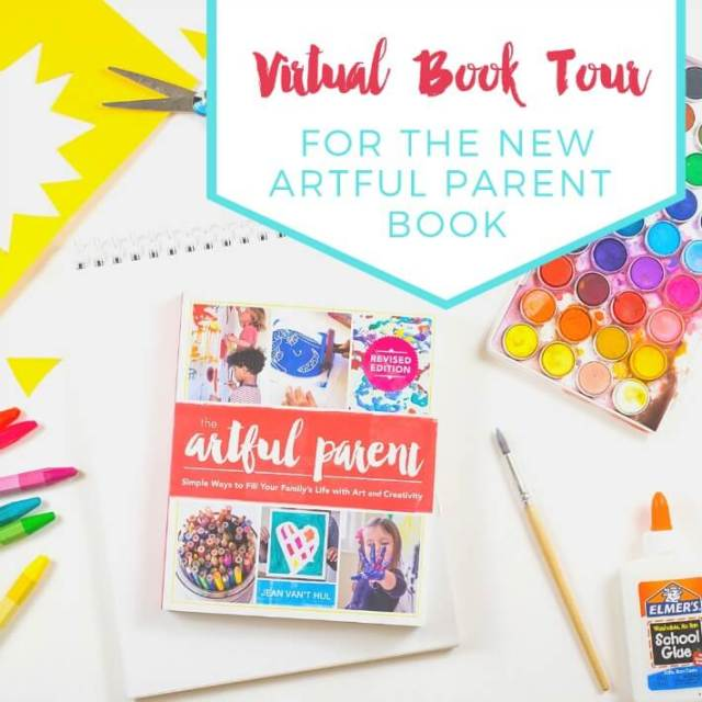 The Virtual Book Tour for the New Artful Parent Book