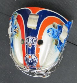 Tyler Bunz 2012-13 Mask: Top. (Photo: Patricia Teter. All Rights Reserved.)