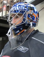 Danis Mask: Left Side (Photo: Patricia Teter. All Rights Reserved.)