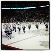 Iowa Wild win opening night. (Photo: Patricia Teter. All Rights Reserved.)