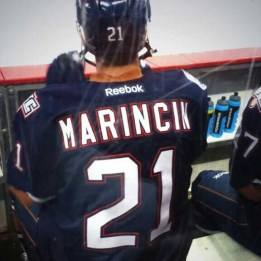 Marincin at bench. (Photo: Patricia Teter. All Rights Reserved.)