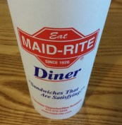 Maid Rite Iowa Tradition. (Photo: Patricia Teter. All Rights Reserved.)