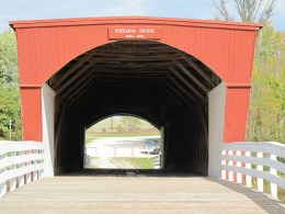 Roseman Bridge. (Photo: Patricia Teter. All Rights Reserved.)