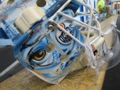 Tyler Bunz Mask right side (Photo Patricia Teter, All Rights Reserved)