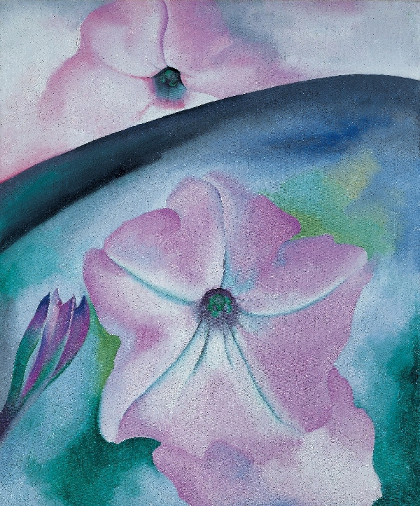 Georgia O'Keeffe, Petunia No. 2, 1924. Oil on canvas, 36 x 30 (91.4 x 76.2) Georgia O'Keeffe Museum Gift of The Burnett Foundation and Gerald and Kathleen Peters (1996.03.002) © Georgia O'Keeffe Museum. Used with permission.