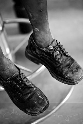 Artwork: Dusty Shoes by Alex Garland