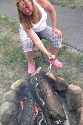 Serena Kovalosky Smoking Pot