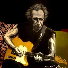 Keith Richards ( 20) 60 x 60 2015