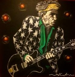 Keith Richards (21) 50 x 50 2015