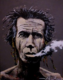 Keith Richards (27) 33 x 46 2015