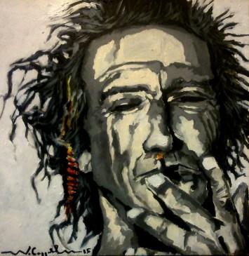 Keith Richards (5) 40 x 40 2015