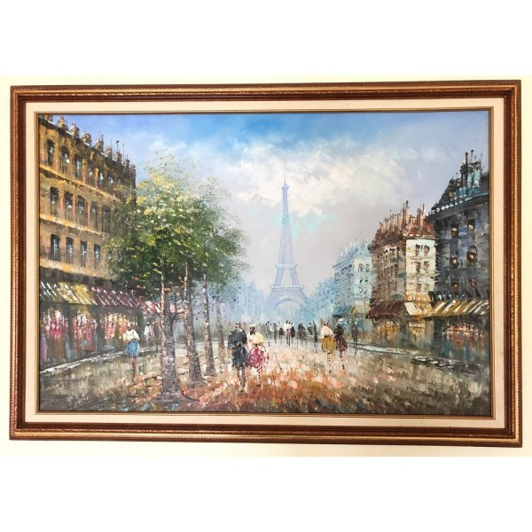 Paris Oil painting