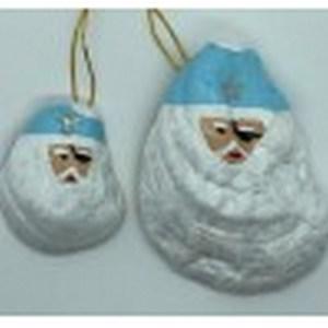Oyster Shell Summer Santa