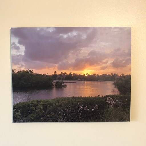 "Artistic Photography ""Lake Sunset"""