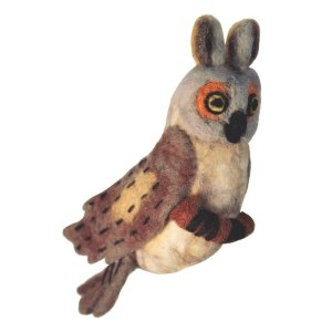 Felt Bird – Horned Owl