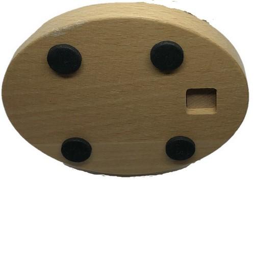Wooden Phone Holder Back