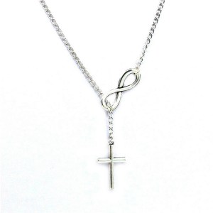 Necklace – Cross and Infinity sign
