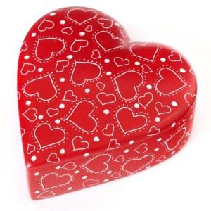 Soapstone Heart Box