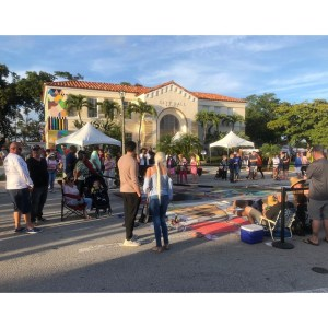 Street Painting – Lake Worth City Hall Annex