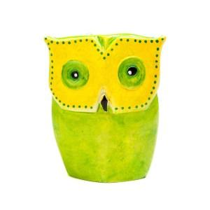 Soapstone Fluorescent Owl