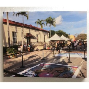 Street Painting – Lake Worth Post Office