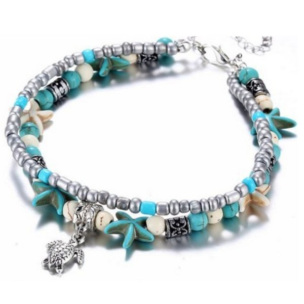 Shell ankle bracelet