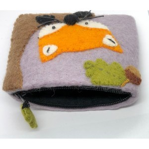 Felt Coin Purse – Fox