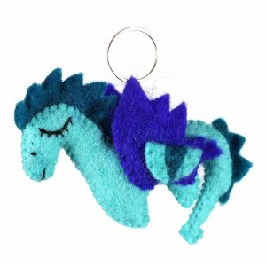 Felt Key Chain – Dragon