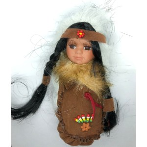 Brown Moccasin Doll
