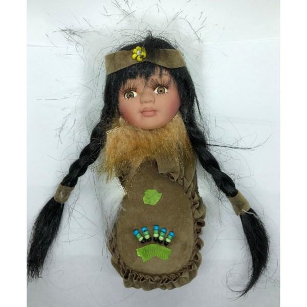 Olive Moccasin Doll