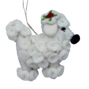 Felt Dog – Poodle